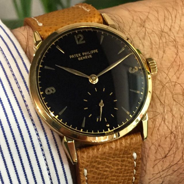 1578J with black dial