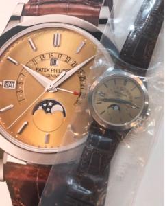 5496P w-bronze dial 01.21.21
